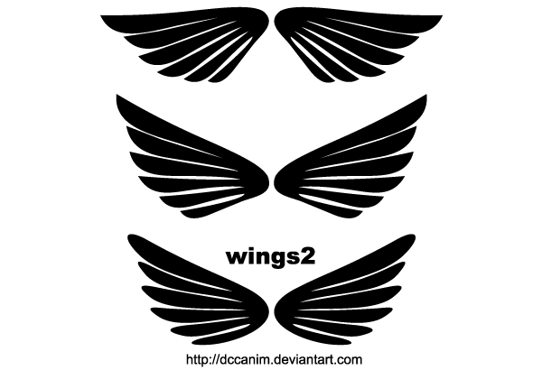 Free Wings Clip Art   123freevectors