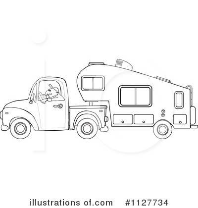 outline drawing of motorhome with Tree C Er Trailer Cliparts on  in addition Saint Patricks Day Coloring Pages in addition Vintage Rv Trailer Clipart in addition U11116433 further 9158425035.