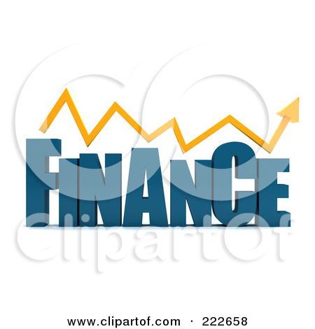 Royalty Free  Rf  Clipart Illustration Of A Word Finance Isolated By
