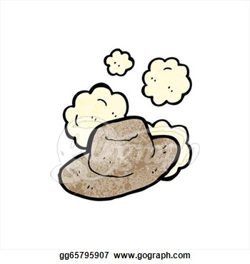 Stock Illustration Cartoon Old Wild West Hat Clipart Gg65795907