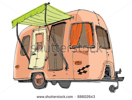 Travel Trailer Stock Photos Images   Pictures   Shutterstock