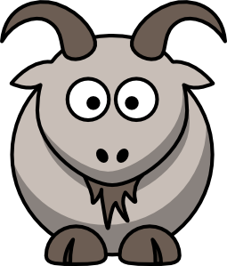 Cartoon Goat Clip Art At Clker Com   Vector Clip Art Online Royalty