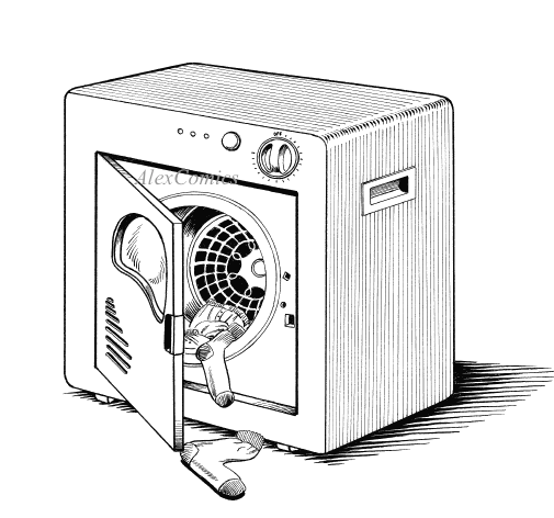 Clothes Dryer Clip Art ~ Dryer clipart suggest