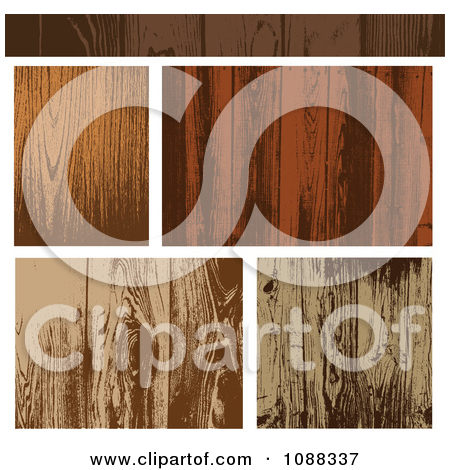 Clipart Wooden Plank Textures   Royalty Free Vector Illustration By