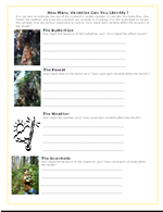 Controls And Variables In Science Worksheets