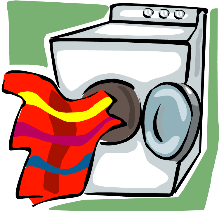 Dryer Maintenance Clip Art