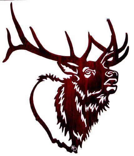 cow elk clipart - photo #31