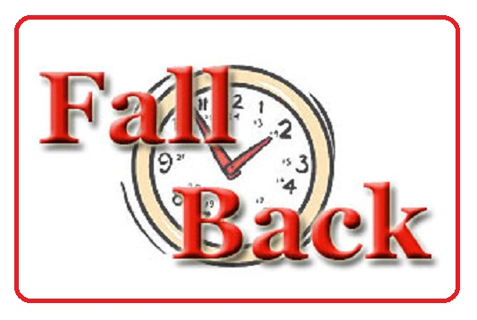 Fall Back Clipart - Clipart Suggest
