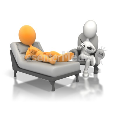 Figure On Couch With Psychiatrist
