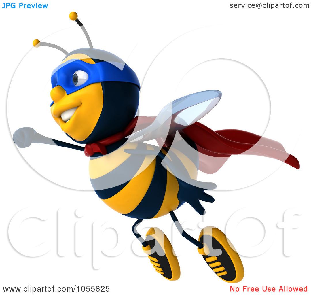 flying bee illustration Rainbow Fish Clip Art Black and White rainbow fish clip art free