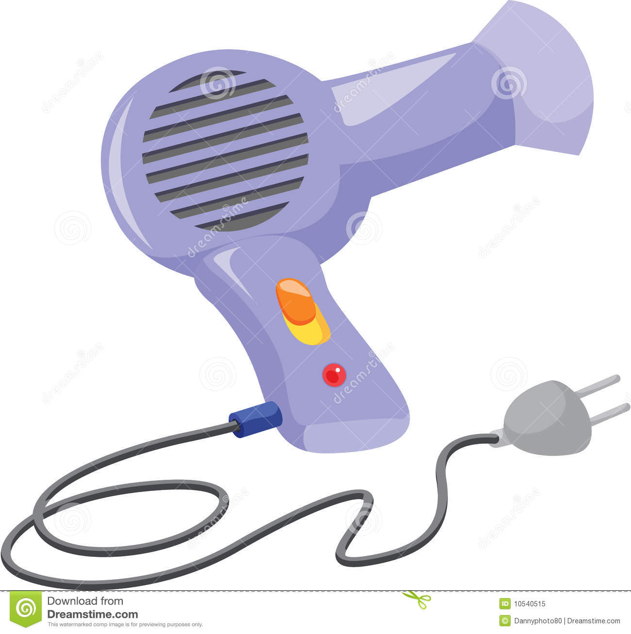 Hair Dryer Royalty Free Stock Photo   Image  10540515