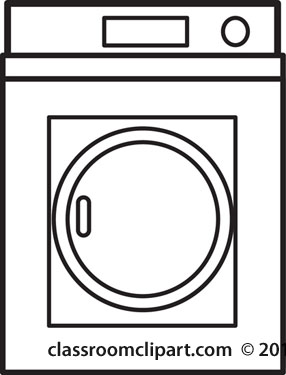 Home   Clothes Dryer Outline   Classroom Clipart