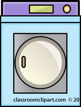 Household   Clothes Dryer   Classroom Clipart