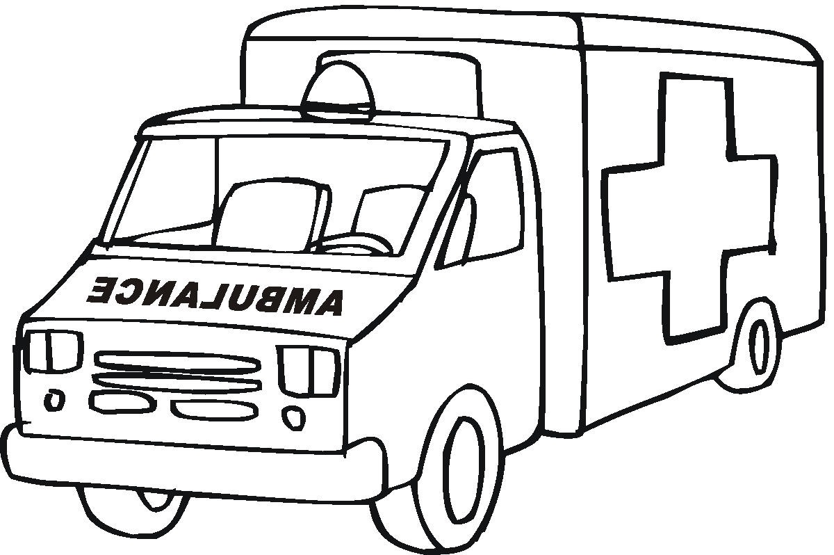 Lego Ambulance Coloring Pages   Only Coloring Pages