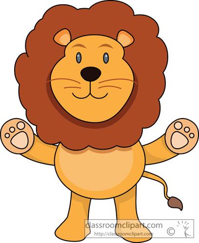 Cute Lion Clipart - Clipart Suggest