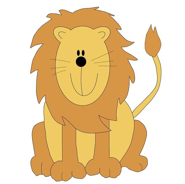 Cute Lion Clipart - Clipart Kid