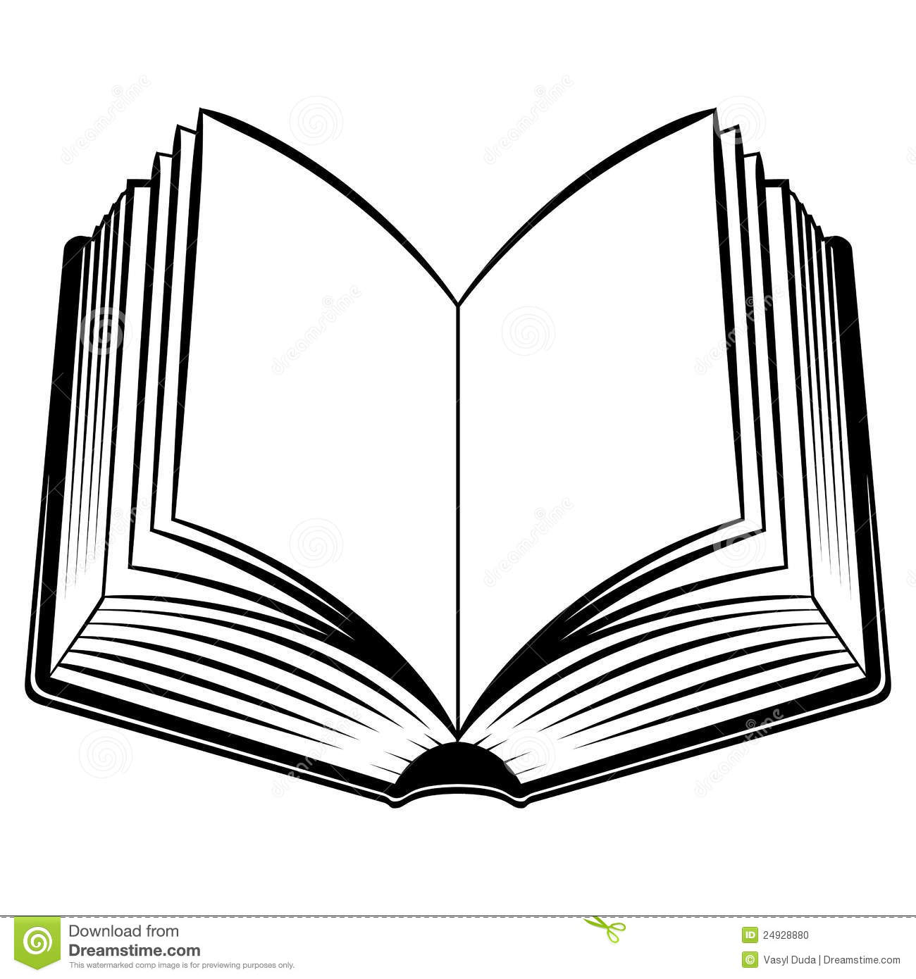 open book black and white clipart clipart suggest