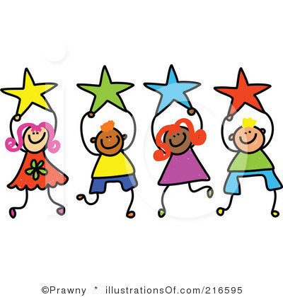 Royalty Free Star Clipart Illustration 216595