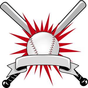 Softball Bats Crossed Clipart - Clipart Kid