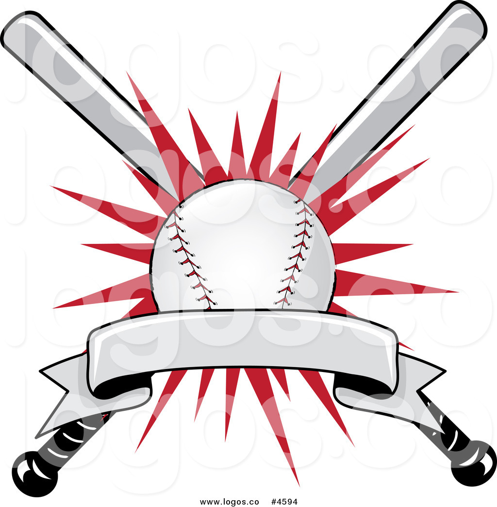 baseball logo clip art www imgkid com the image kid crossed softball bats clipart crossed bats clipart