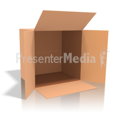 Cardboard Box   Presentation Clipart   Great Clipart For Presentations