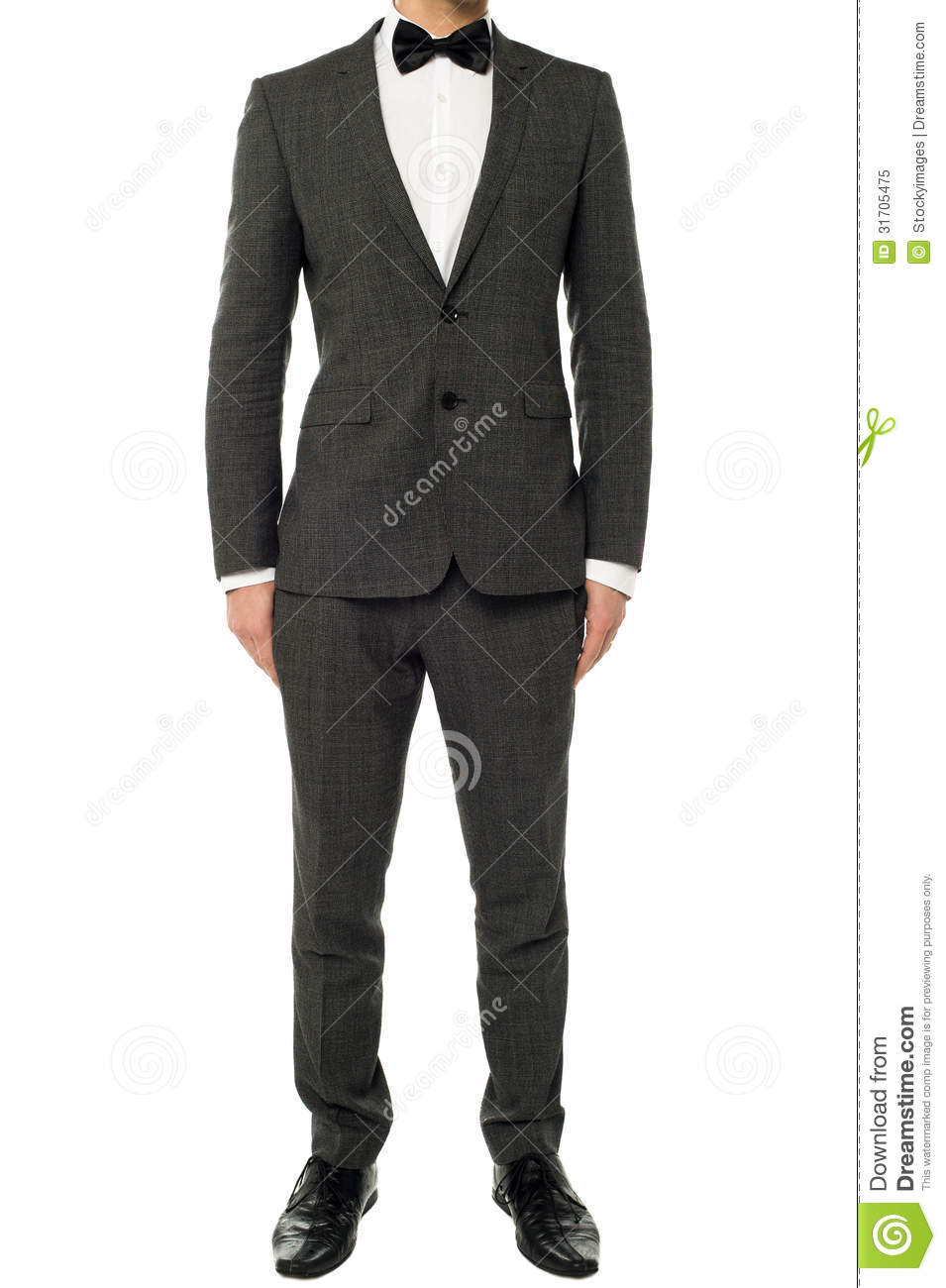Cropped Image Of A Man In Tuxedo Royalty Free Stock Photo   Image