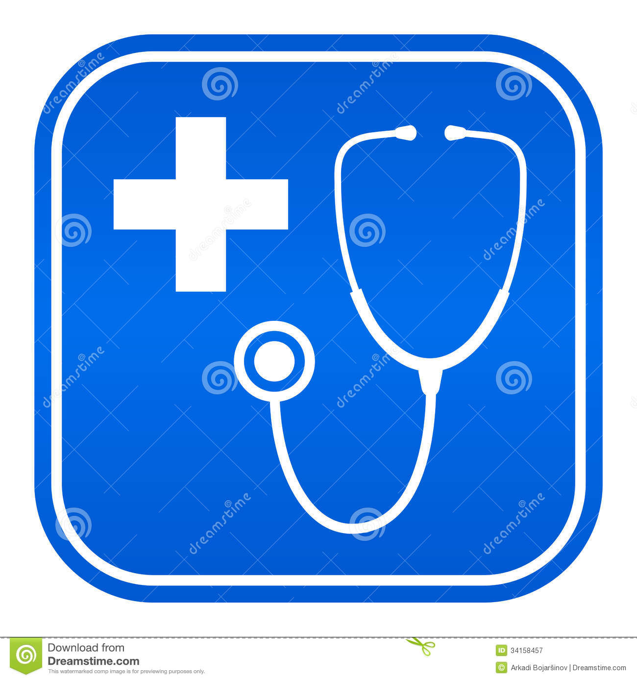 Doctor Symbol Royalty Free Stock Photography   Image  34158457