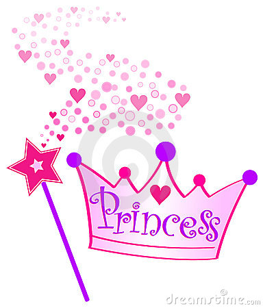 Princess Tiara And Wand Clipart - Clipart Kid