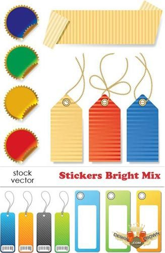 Free Designer Vector Clip Art   Product Stickers And Tagsai Tiff   15