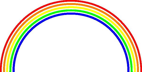 clipart panda rainbow - photo #25
