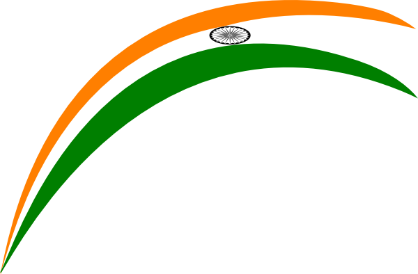 Rainbow Indian Flag Clip Art At Clker Com   Vector Clip Art Online