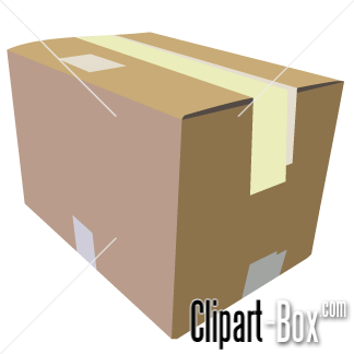 Related Cardboard Box Cliparts
