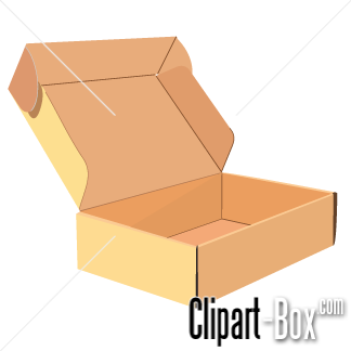 Related Open Cardboard Box Cliparts