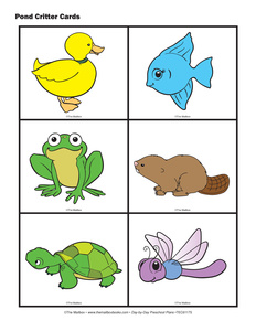 Pond Animals Clipart - Clipart Suggest