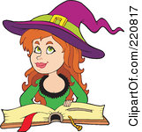 Royalty Free  Rf  Pretty Witch Clipart   Illustrations  1