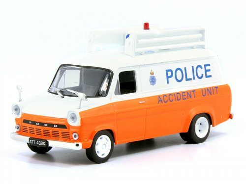 43 Ford Transit Mk1 Polizei England Magazine Police Cars Of The
