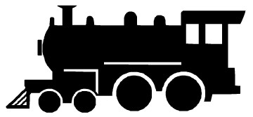 Art   Transportation Clip Art Images   Graphics   Train Silhouette