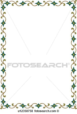 Green And Gold Cross Clipart - Clipart Kid