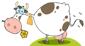 Cow Clip Art Images Cow Stock Photos   Clipart Cow Pictures
