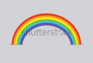Download Source File Browse   Nature   Vector Rainbow Background