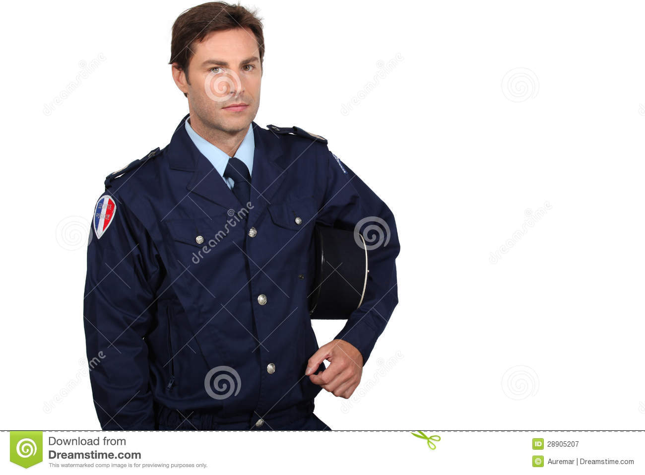 French Policeman Royalty Free Stock Photography   Image  28905207