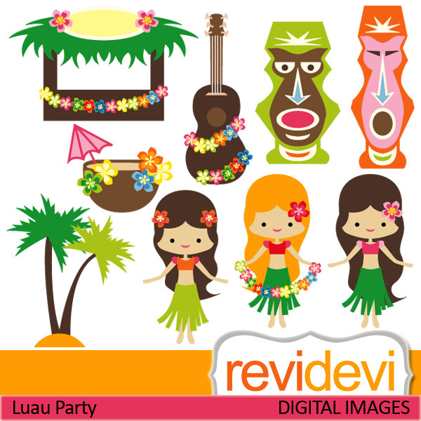 Hawaii Luau Clip Art Images   Pictures   Becuo