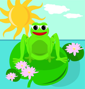 Lily Pond Clipart - Clipart Kid