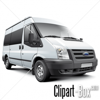 Related Ford Transit Van Cliparts