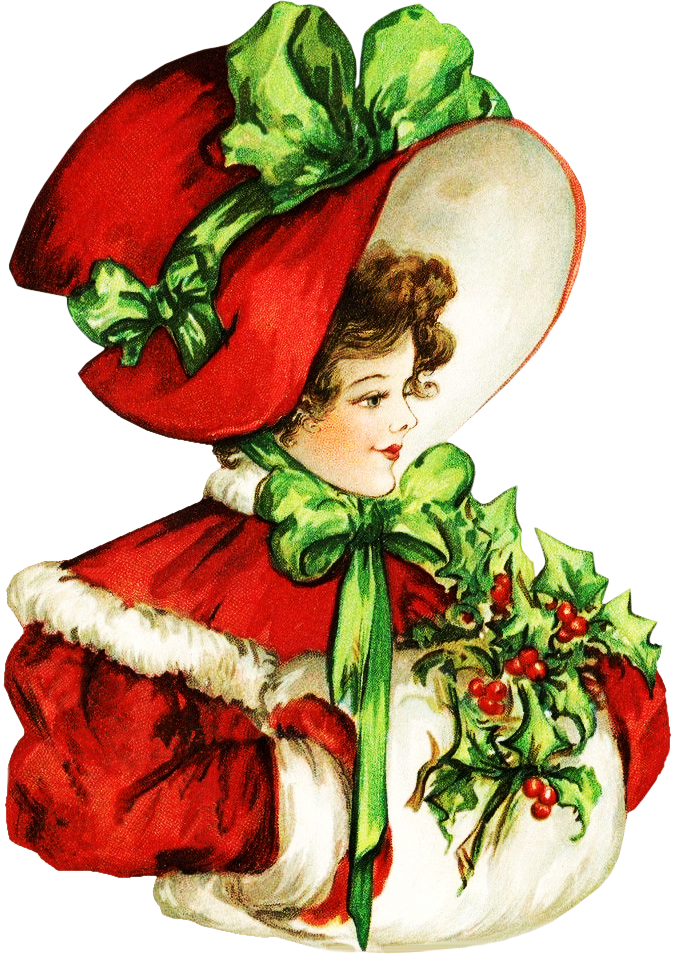Uploads 2014 10 Clipartplace Victorian Christmas Lady Clipart2 Png