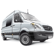 Van Ducato Vector Transportation Vehicle Graphic Container Trailer