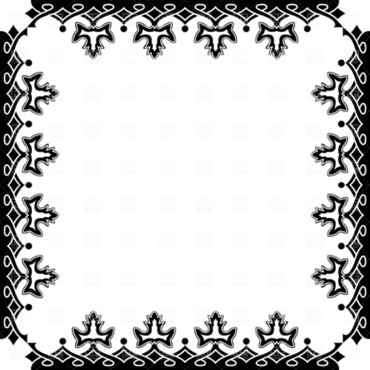 Victorian Frame 4366 Download Royalty Free Vector Clipart  Eps