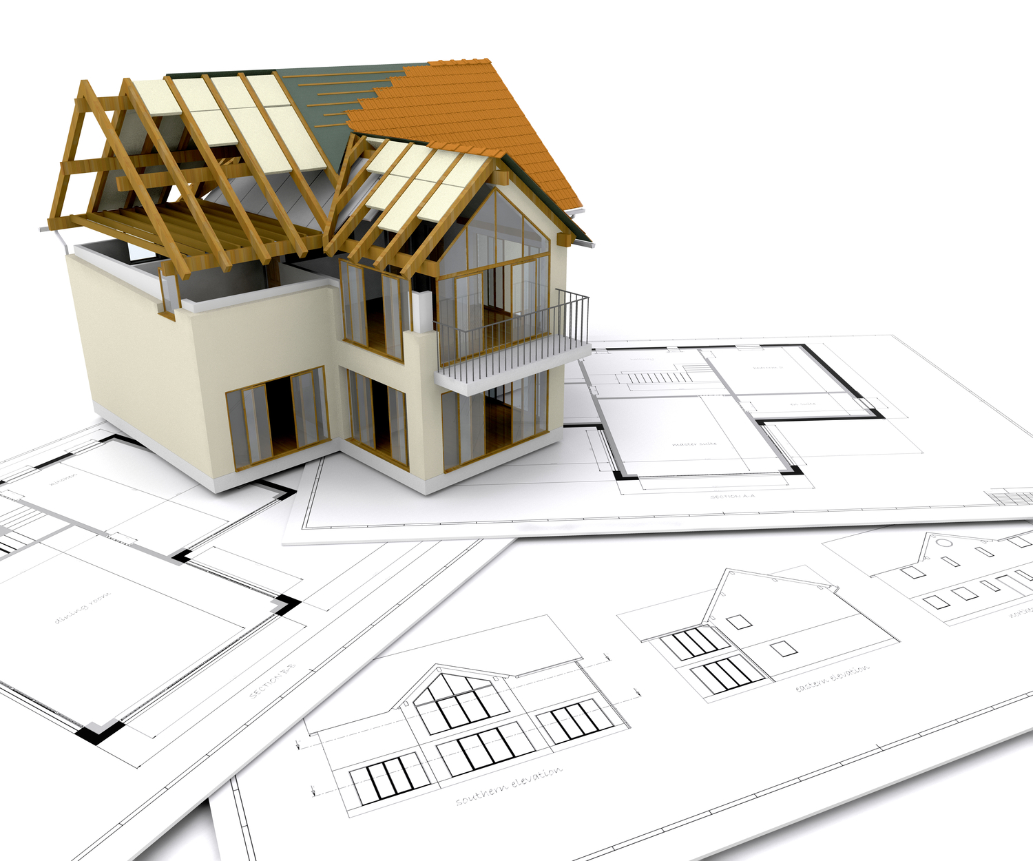 House construction clipart clipart suggest Modern home construction