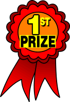 First Prize Ribbon Clip Art