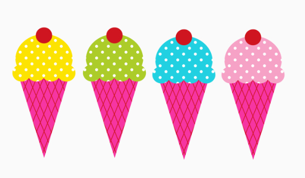 Ice Cream Border Clipart - Clipart Kid